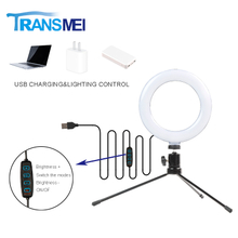 Selfie Ring Light with Tripod TM-06MB