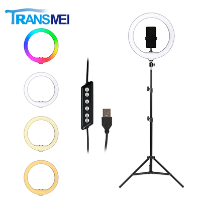 14 inch Selfie Ring Light 3 Colors with Tripod TM-14R20A